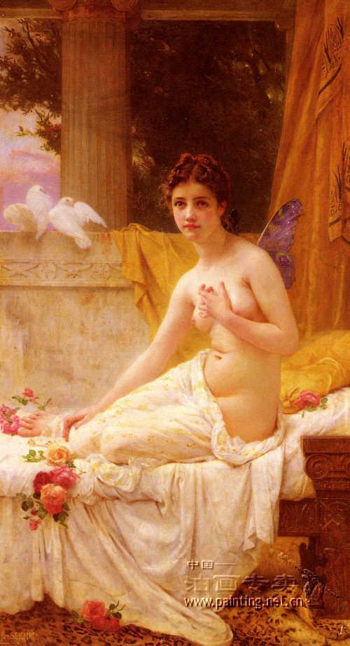古典人体油画 人体艺术油画 人物油画分类 中国大芬油画专卖 高清图片