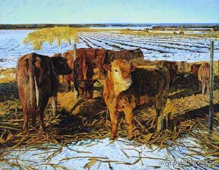 西南方农村牛棚设计图展示