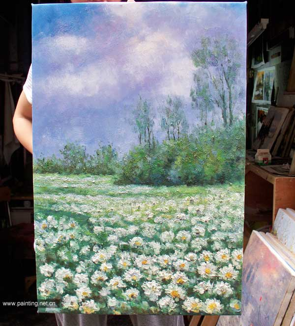 电影/画师依照电影截图所绘的《雏菊》