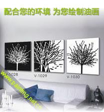 配合您的家居环境为您绘制装饰油画